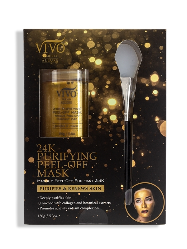 24k purifying peel-off mask