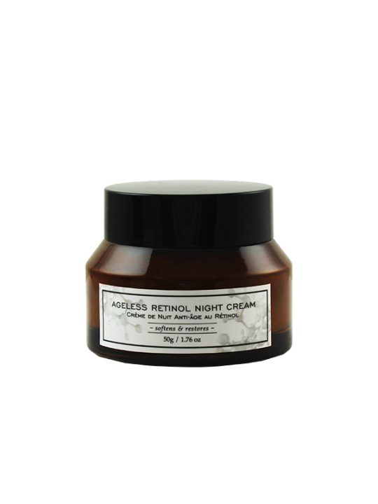 Ageless Retinol Night Cream Jar