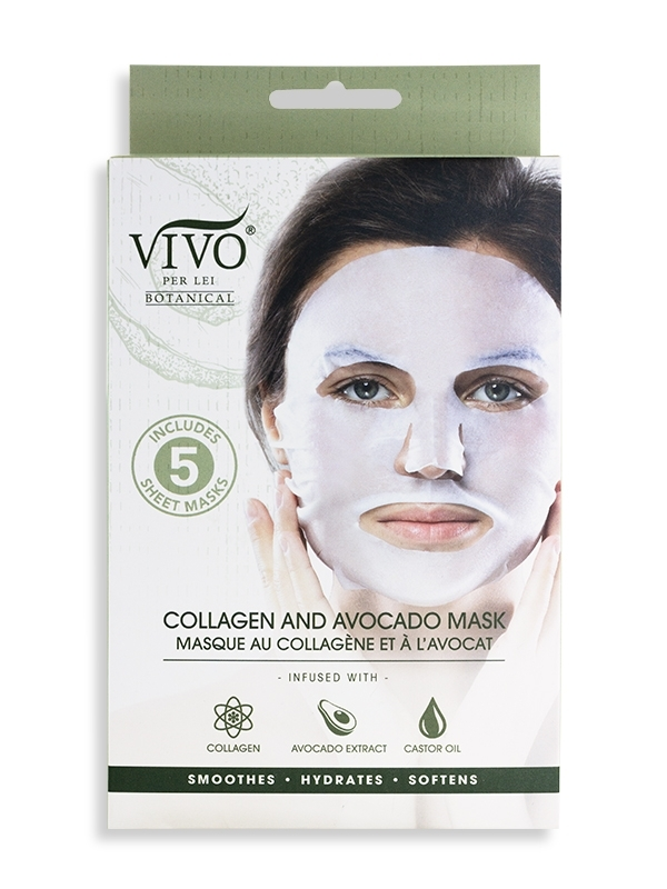 Collagen and Avocado Facial Sheet Mask