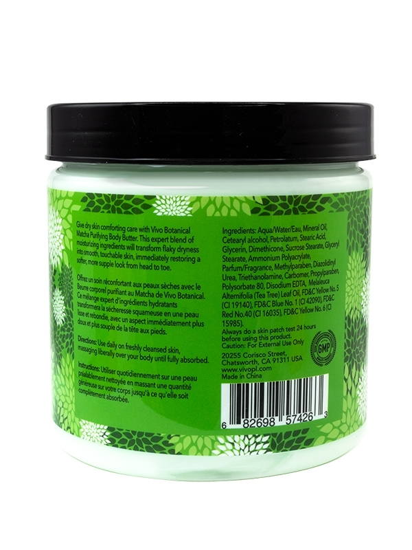 Matcha Purifying Body Butter Back view