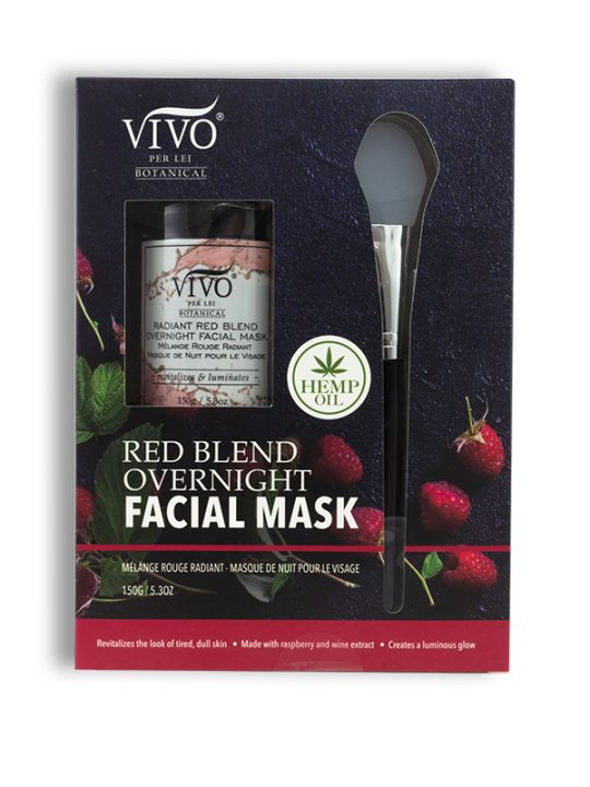 Red Blend Overnight Facial Mask