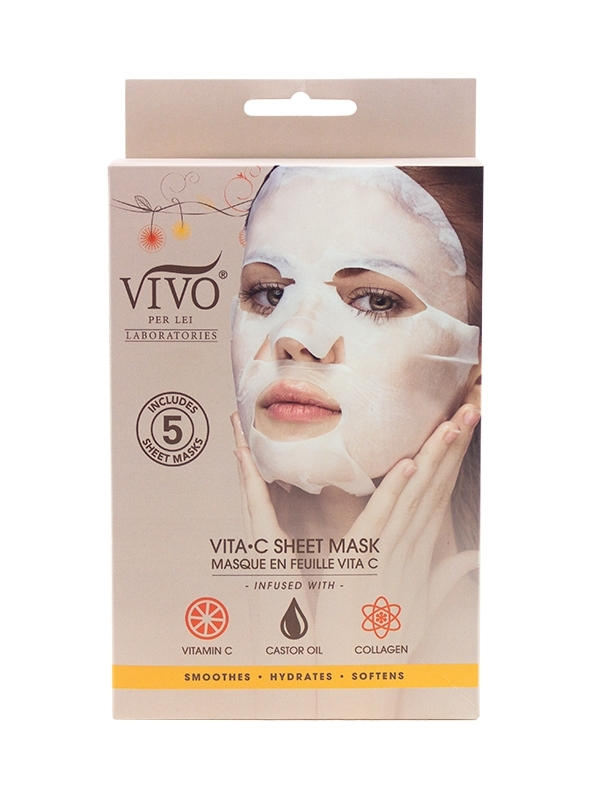 vitamin c mask in package