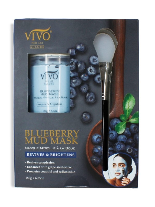 Vivo Blueberry Mud Mask