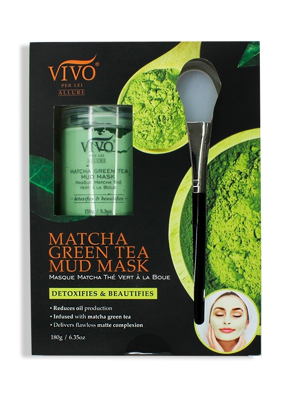 Vivo Matcha Green Tea Mud Mask