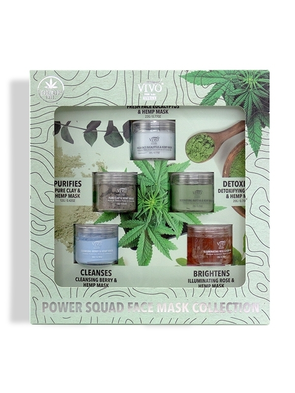 Power Squad Face Mask Collection