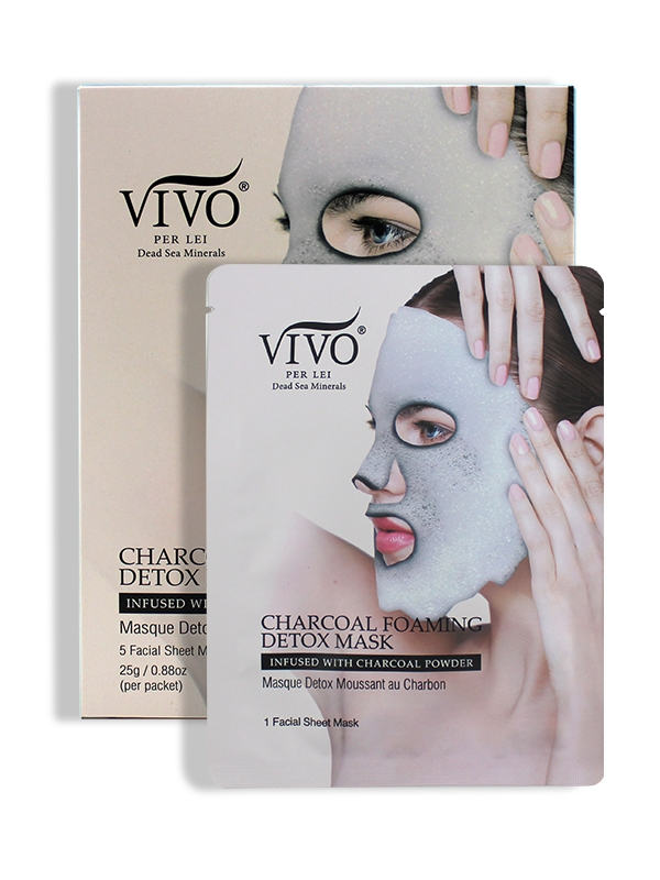 Vivo Per Lei Charcoal Foaming Mask