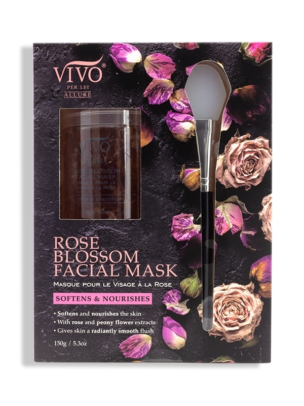 rose blossom facial mask
