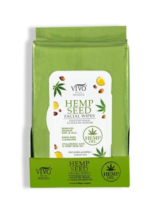 Hemp Seed Facial Wipes