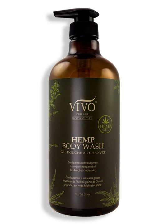 Hemp body wash